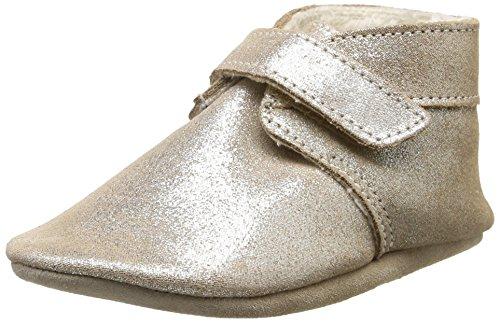 Robeez Baby Mädchen Pole Nord Krabbel-& Hausschuhe, Gold (Bronze fur 19), 23/24 EU