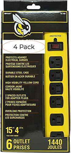 Hooded Rain Poncho Jacket with Pockets Yellow