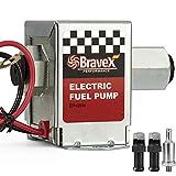Bravex Inline Electric Fuel Pump Universal DC 12V Low Pressure 4-7 PSI Petrol Diesel (EP12S)