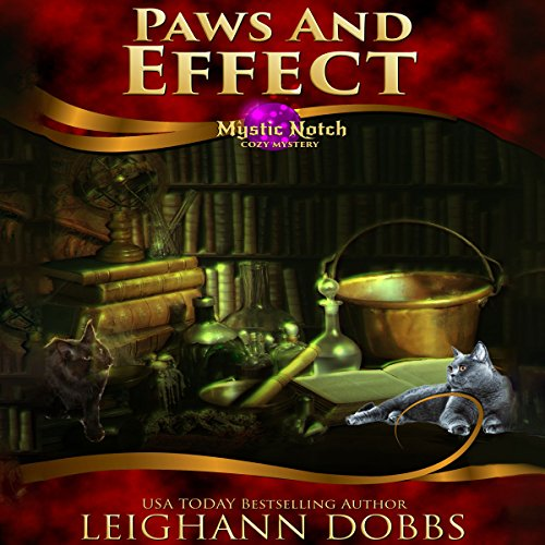 Paws and Effect audiobook cover art