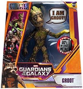 Jada Heavy DIE CAST METAL-personaggio Guardians of the Galaxy//Groot m179 circa 10 cm grande
