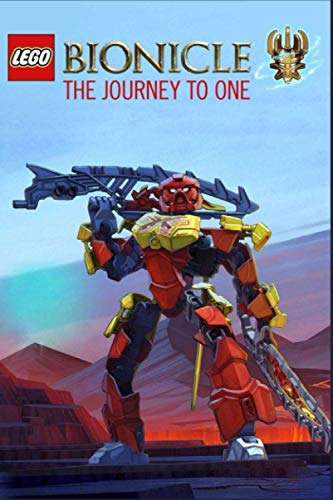 Bionicle The Journey to One: Writing Journal, Lined Notebook, A Great Gift For Kids All Ages, Best Gift Idea For Christmas, Birthday, New Year, (6' x'9 100 Pages)