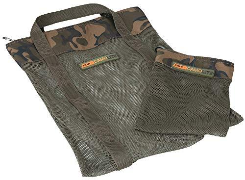FoxInternational Fox Camolite Medium AirDry Bag Includes Hook Bait Bag
