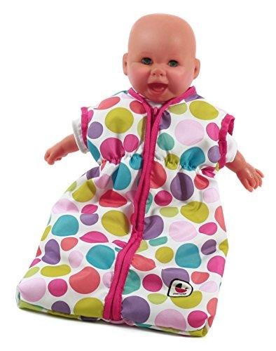 Bayer Chic 2000 792 17 Puppen-Schlafsack für Babypuppen, pink