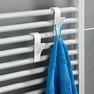 Shop-Story – Lote de 6 ganchos para toallas para radiador de baño