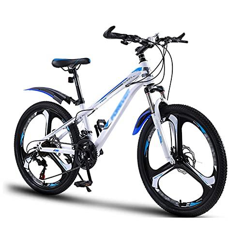 OFFA Biciclette per Ragazzi dai 9 Ai 12 Anni Mountain Bike, Ruote da 20'22' Ruote da 21 velocità / 24'Doppio Disco A 24 velocità con Smorzamento del Freno Mountain Bike, Sport E Ciclismo All'aperto