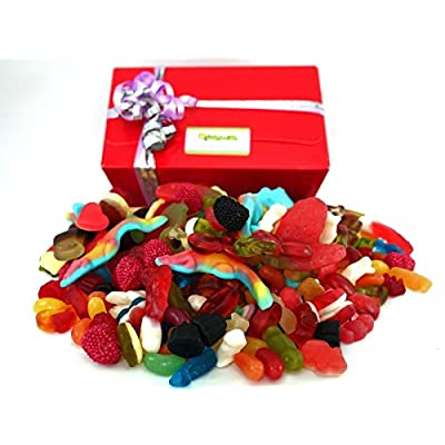 jelly sweet presentation gift box - 1 kilo quality gummy sweets packed to order. it's a jelly sweet delight! Jelly Sweet Presentation Gift Box – 1 Kilo Quality Gummy Sweets Packed to Order. It's a Jelly Sweet Delight! 51d9gNDaKJL