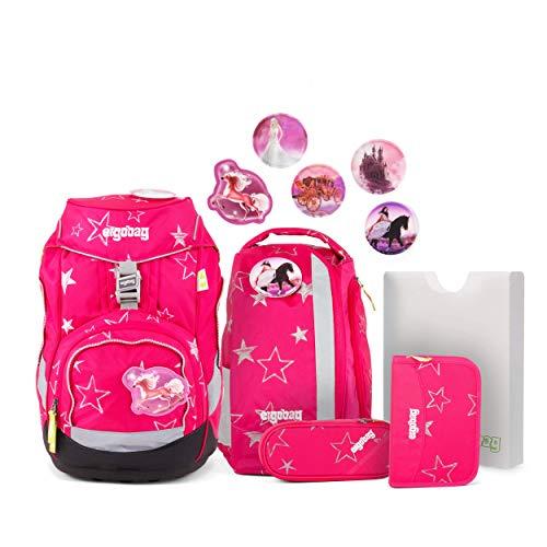 Ergobag CinBärella Schulrucksack-Set, 6tlg, pink
