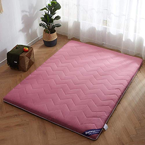 MiaoMiao Japanese Tatami Futon mattress cover, folding yoga mat Tatami Mat Premium hotel quality promotes airflow topper cover-f 90x190x3cm