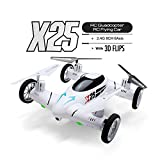 SY X25 2.4G 8CH 6-Axis Speed Switch With 3D Flips RC Quadcopter Land / Sky 2 in 1 RTF