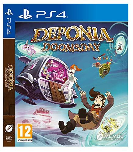 Deponia Doomsday (PS4 Italiano)