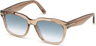 Tom Ford RHETT FT 0714 BROWN/BLUE SHADED 55/18/145 unisex Sunglasses