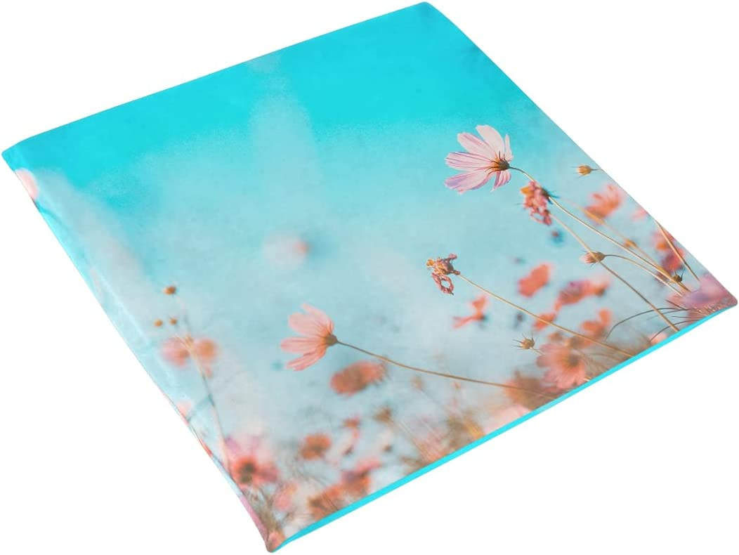 xigua Seat Cushion Beautiful sale Cosmos New color Chair Flowers Soft Rem Pads