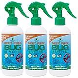 Greenerways Organic Natural Bug Spray, Insect Repellent, USDA...