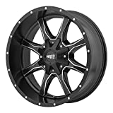 Moto Metal MO970 Semi Gloss Black Wheel Machined With Milled Accents (17x8'/6x135,139.7mm, 00mm offset)