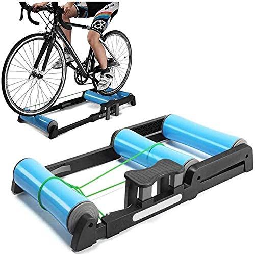 WLGQ Suge Soporte para Entrenador de Bicicleta para Interiores Bicicleta Entrenador Turbo Magnético Rodillos de Bicicleta Soporte para Bicicleta Plegable Entrenador Rodillo de Bicicleta Ciclismo