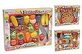 Haberkorn 85 TLG Lebensmittel Set für Spielküche schneidbar Fisch Pizza Gemüse UVM