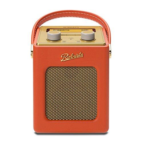 Roberts Radio Radio Portatile Revival MINI Arancione