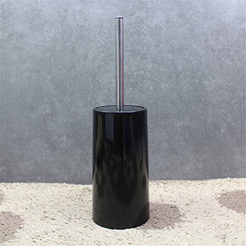 Continental créatif des toilettes propres avec la base de la Brosse brosse WC, toilette doux simple kit brosse de nettoyage Essuyer ,11*39.5cm