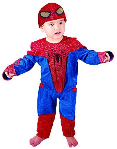 Josman - E254-002 - Déguisement - Costume Bébé Spiderman - 0 à 12 mois