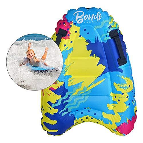 Mankoo Sup Board bodyboards Tablas de Bodyboard inflables Suaves y Ligeras Tablas de Surf Tablas de Surf portátiles para Surf, Piscina para Principiantes Flotador de natación