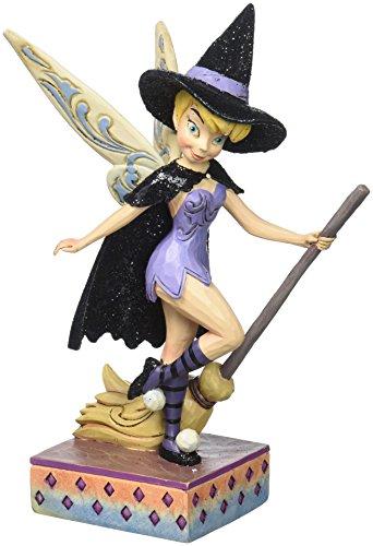 Disney Traditions by Jim Shore - Figura decorativa de resina de bruja de bruja (17 cm)