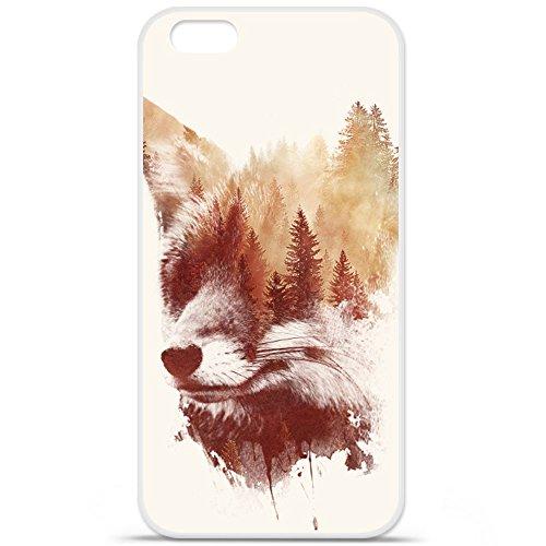 Cover per Apple iPhone 7, in silicone gel, protezione posteriore, RF Blind Fox