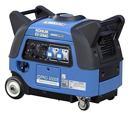 SDMO Generador inversor portátil y exterior, motor Yamaha MZ175, menos consumo de combustible y bajo ruido, más de 10 horas de respaldo de energía