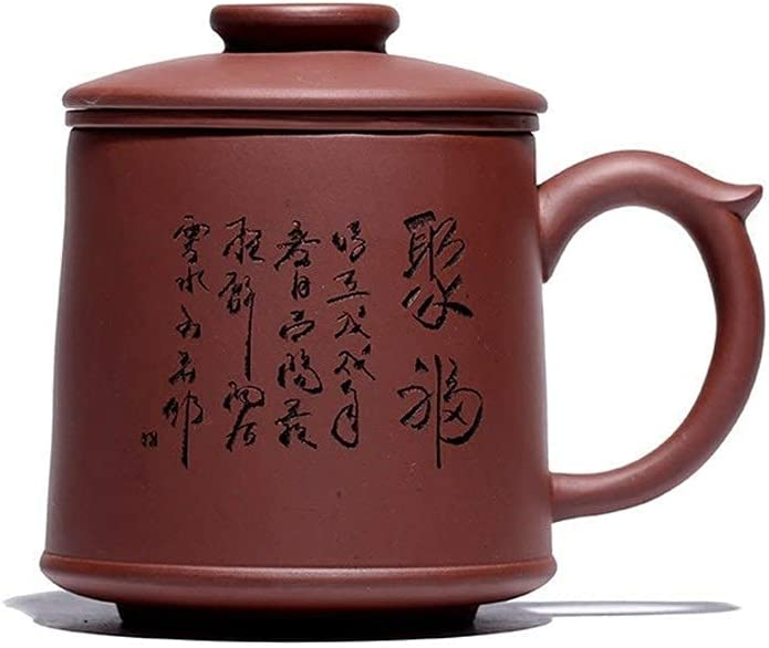 Teapot Japanese, Purple Max 52% OFF Clay Cup Auspicious Liner 55% OFF Cover Filter