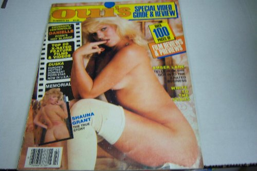 Oui's Special Video Guide & Review Busty Adult Magazine 'Shauna Grant' Summer 1984