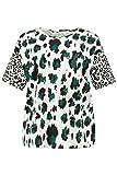 Studio Untold Leo-Shirt Blusas, Beige (Offwhite 75059621), 38 para Mujer