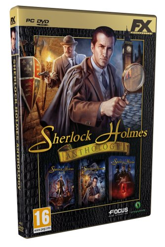 FX Interactive Sherlock Holmes Anthology, PC - Juego (PC, PC, Aventura, M (Maduro))