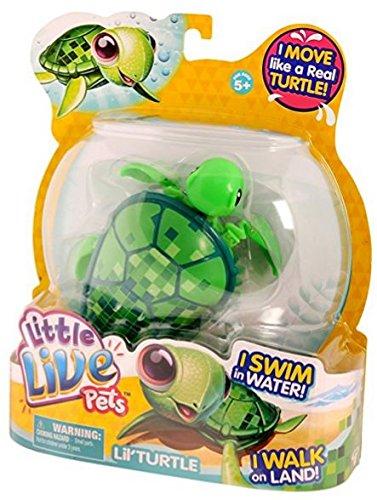 Little Live Pets Pequeños Animales vivos swimstar tortuga digi (Verde)