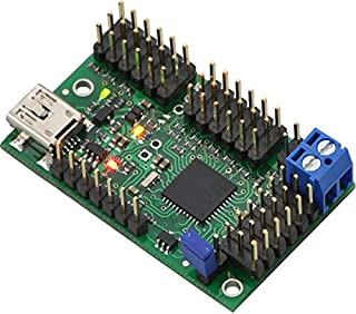 Pololu Mini Maestro 18-Channel USB Servo Controller (Assembled) (Item 1354)