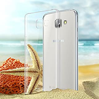 Imak Samsung Galaxy A9 Crystal Ultrathin Hard Case Cover With Screen Protector - Clear