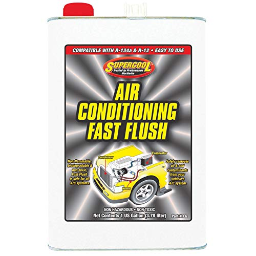 Supercool A/C Flush, 1 Gal, Flsh PNT Grtr Than 250 F (FFG)