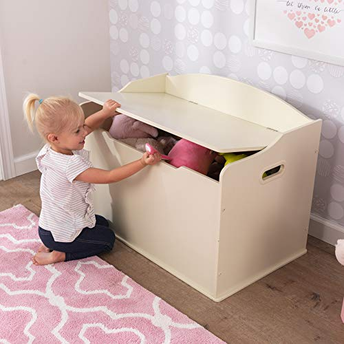 KidKraft Spielzeugtruhe Austin – Vanille, 77,6×46,4×49,8cm - 6