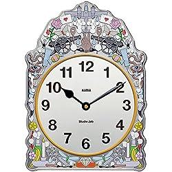 Alessi Aleesi SJ01 Comtoise Wall Clock, Multi