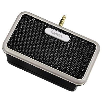 Hama AS-192 Slide Stereo MP3 Mini Speaker (3.5mm Jack Plug) - Black by Hama