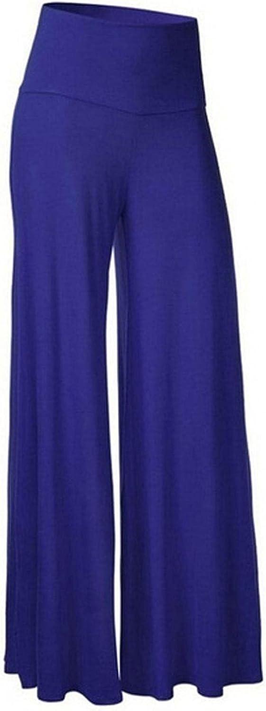 Larisalt Pants for Women High Waist Trendy, Womens Fashion Wide Leg Straight Trousers Casual Loose Fit Yoga Sweatpants