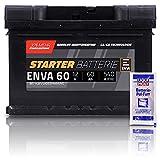 ENVA Autobatterie 12V 60Ah...
