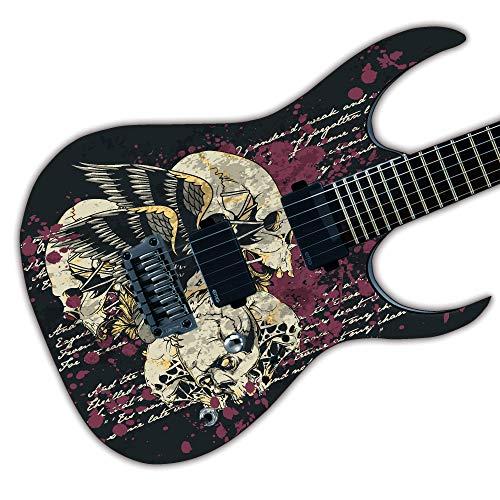 profesional ranking Vinilo adhesivo civil para guitarra con estampado air laminado, personalizable… elección