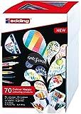 edding Color Happy Box CH69+1 - Caja con 69 Rotuladores de Color y un Brushpen, Multicolor