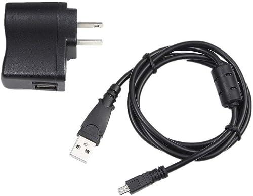 iKiKin USB AC Power Adapter Battery Charger Cord Replacement for Sony Cybershot DSC-W810 DSC-W830 s