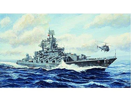 1/700 ロシア海軍 スラヴァ級ミサイル巡洋艦 モスクワ 黒海艦隊  [並行輸入品]