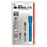Mini Maglite - Linterna LED (funciona con 2 pilas AAA, en caja), color azul
