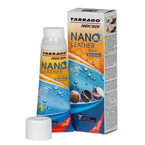 Tarrago | Nano Leder 75ml Wachs Tube | Feuchtigkeitsspendende und pflegende Hautcreme (farblos 00)