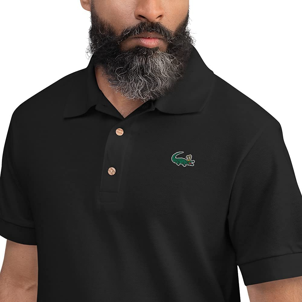 Limited 55% OFF time cheap sale Loki Alligator Polo Collared Shirt Sle Embroidered Short Unisex