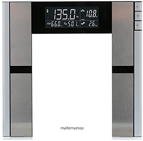 My Life My Shop Digital Scale and Body Analyzer, Gray