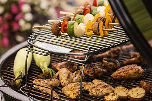 "Weber Stephen Products 7647 22"" x 12"" Expansion Grilling Rack, Multicolor"